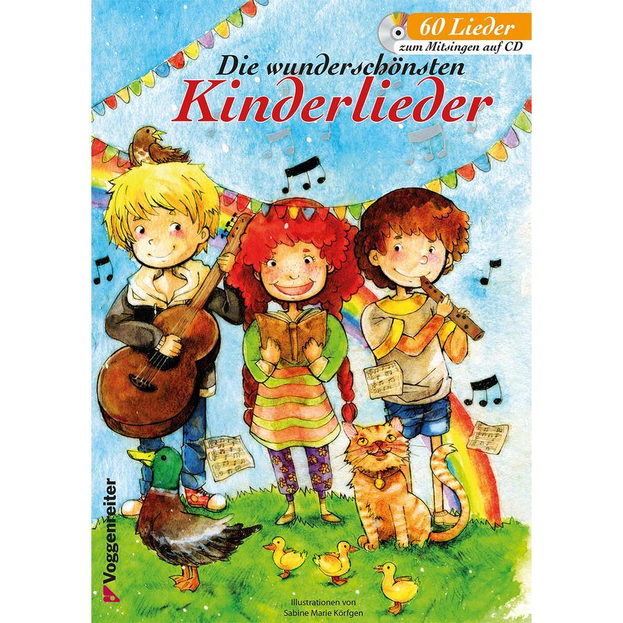 Voggenreiter Die wunderschönsten Kinderlieder, mit CD