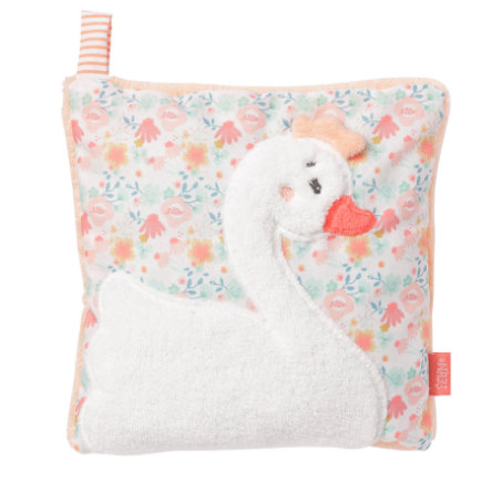fehn Swan Lake Cherry Pit Cushion Rabbit