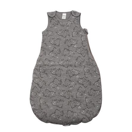 DIMO-TEX Sac de couchage éléphants gris