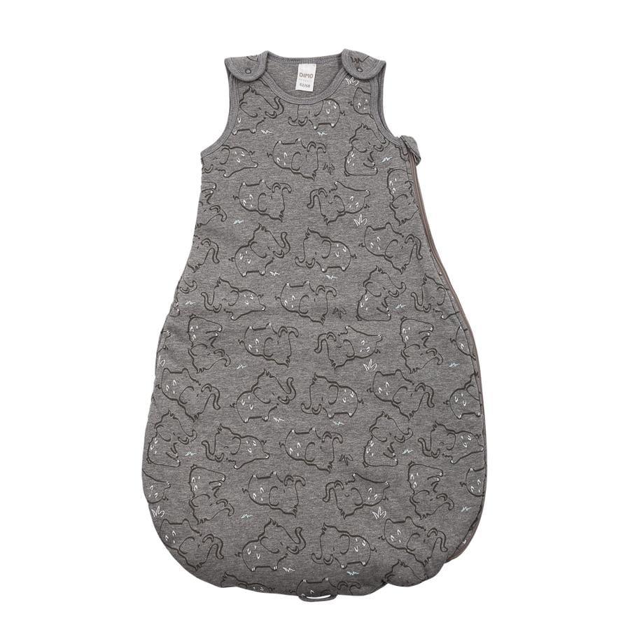 DIMO-TEX Schlafsack Elefanten grau