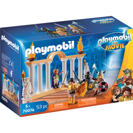 PLAYMOBIL® THE MOVIE Keizer Maximus in Colosseum 70076
