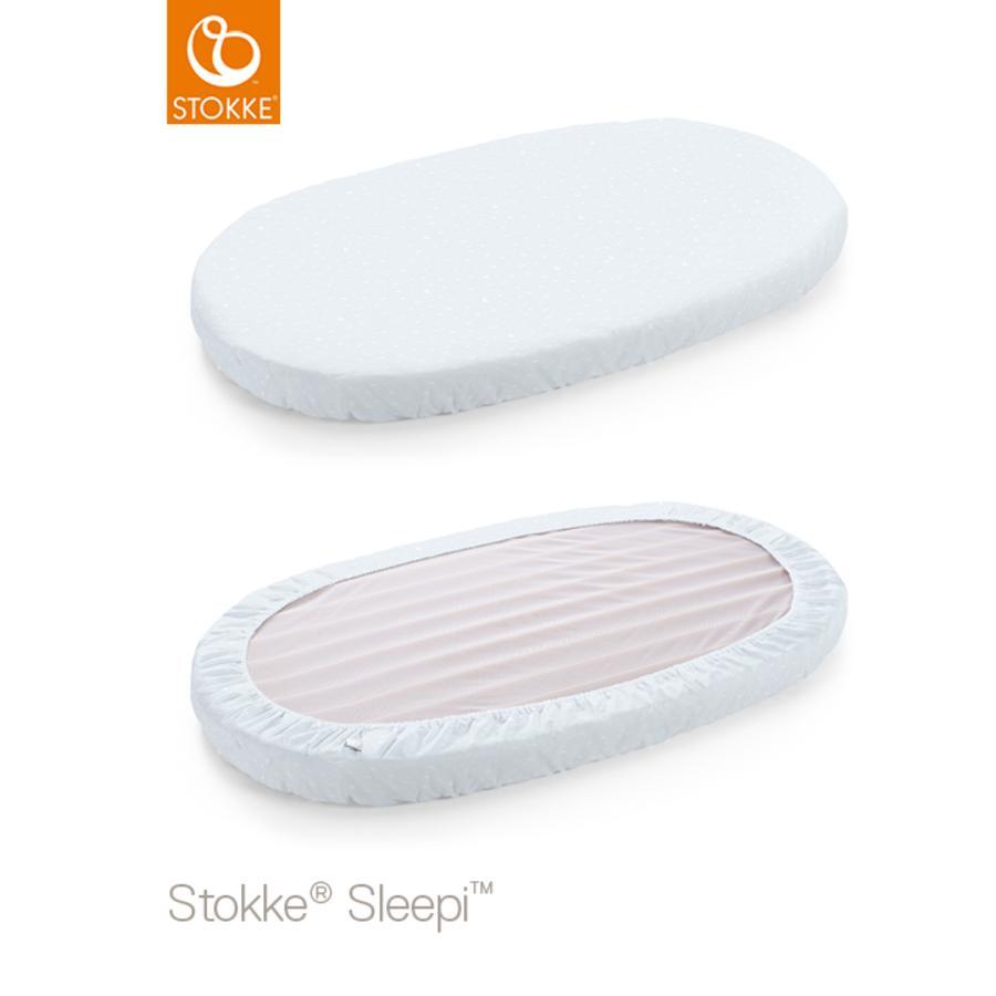 STOKKE® Sleepi™ Spannbettlaken Kinderbett 120 cm Blue Sea
