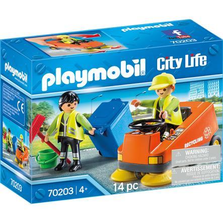 PLAYMOBIL Zametač City Life 70203