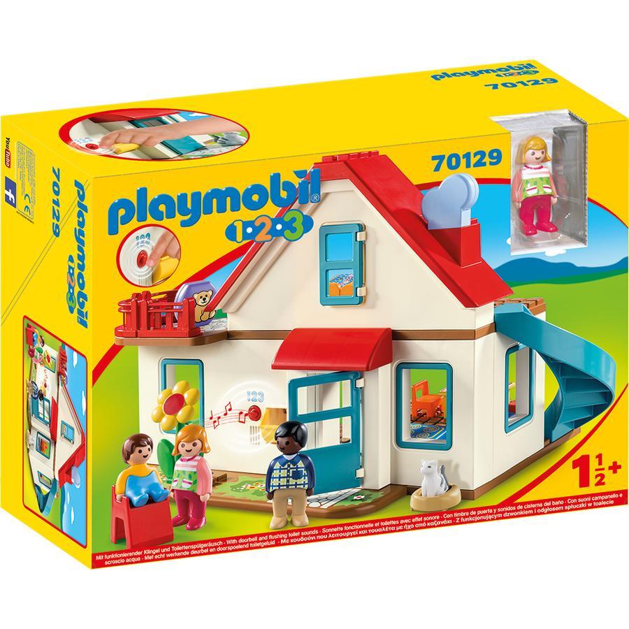 PLAYMOBIL® 123 Figurine maison familiale 70129