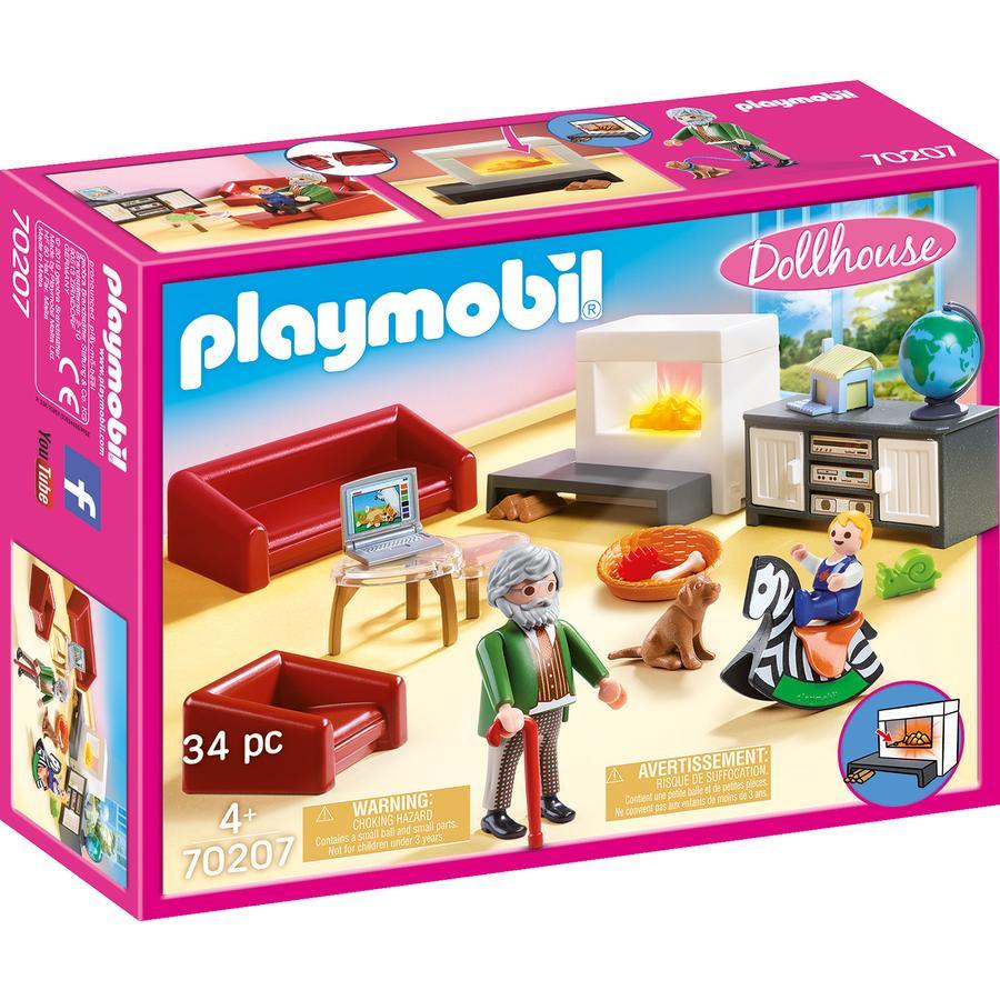 PLAYMOBIL Dukkehus Hyggelig stue 70207