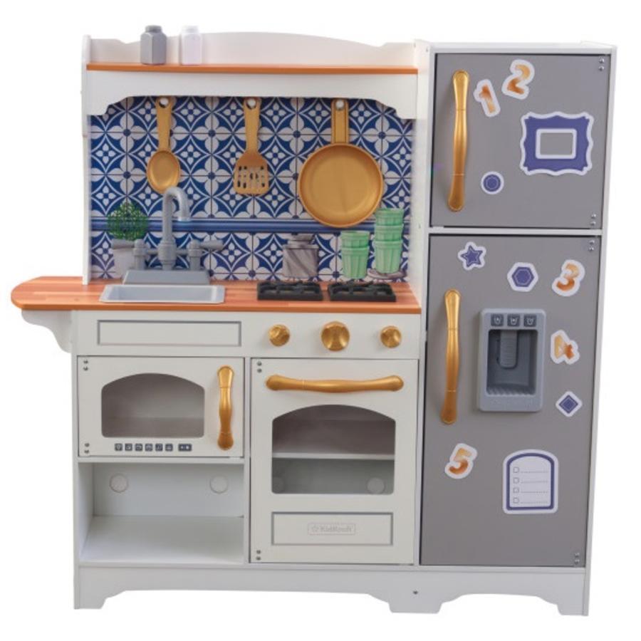 Kidkraft® Mosaik magnetisk legekøkken