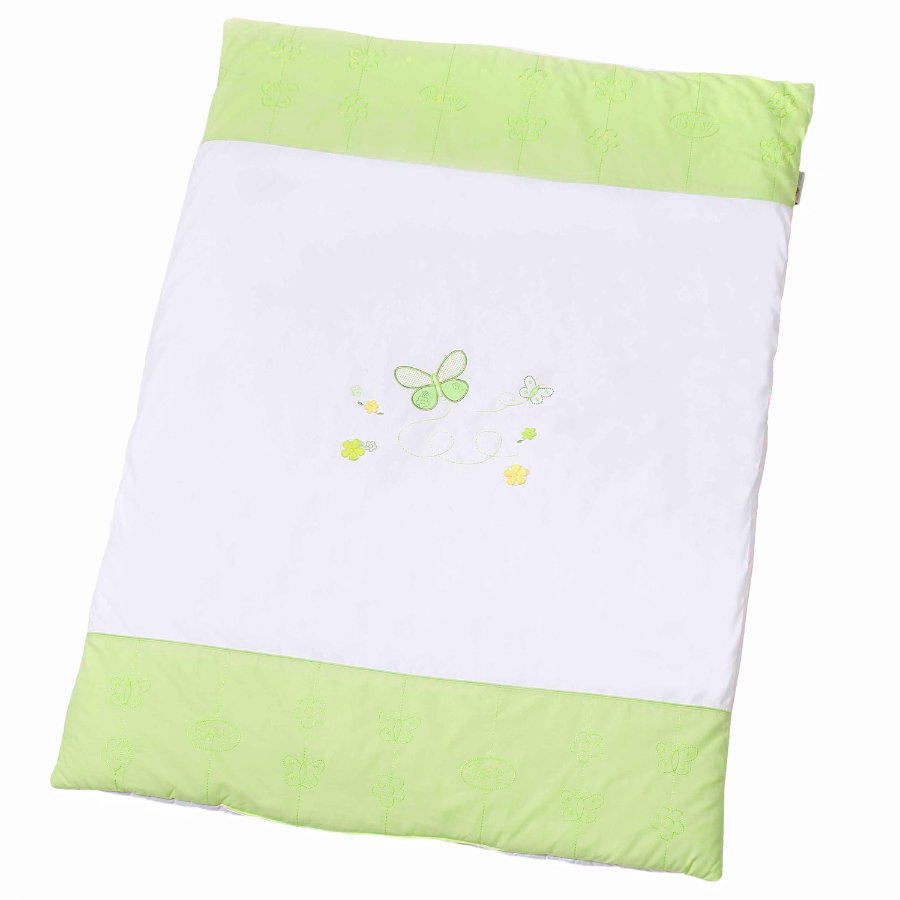 Easy Baby Couverture de jeu 100x135 cm Butterfly green (460-88)