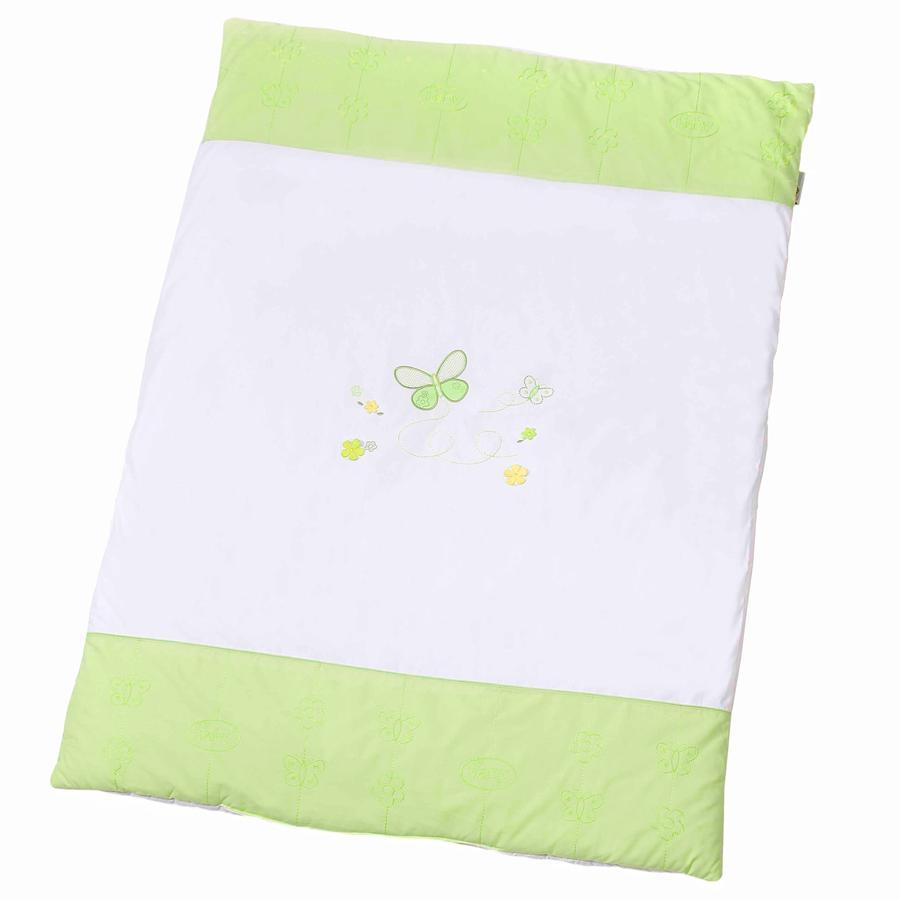 Easy Baby Krabbeldecke 100x135 cm Butterfly green (460-88)