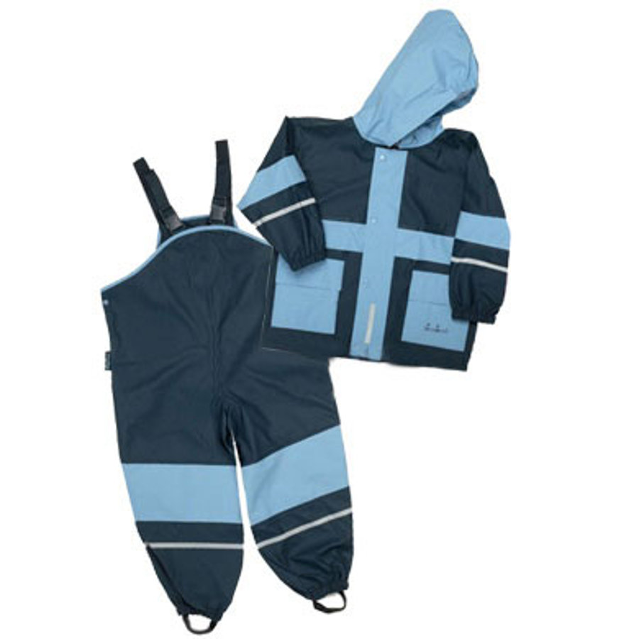 PLAYSHOES Ensemble imperméable bleu / bleu marine