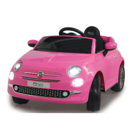 JAMARA Ride-on Fiat 500 12V, pink