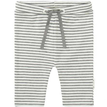 STACCATO  Pantalon gris mélangé rayé