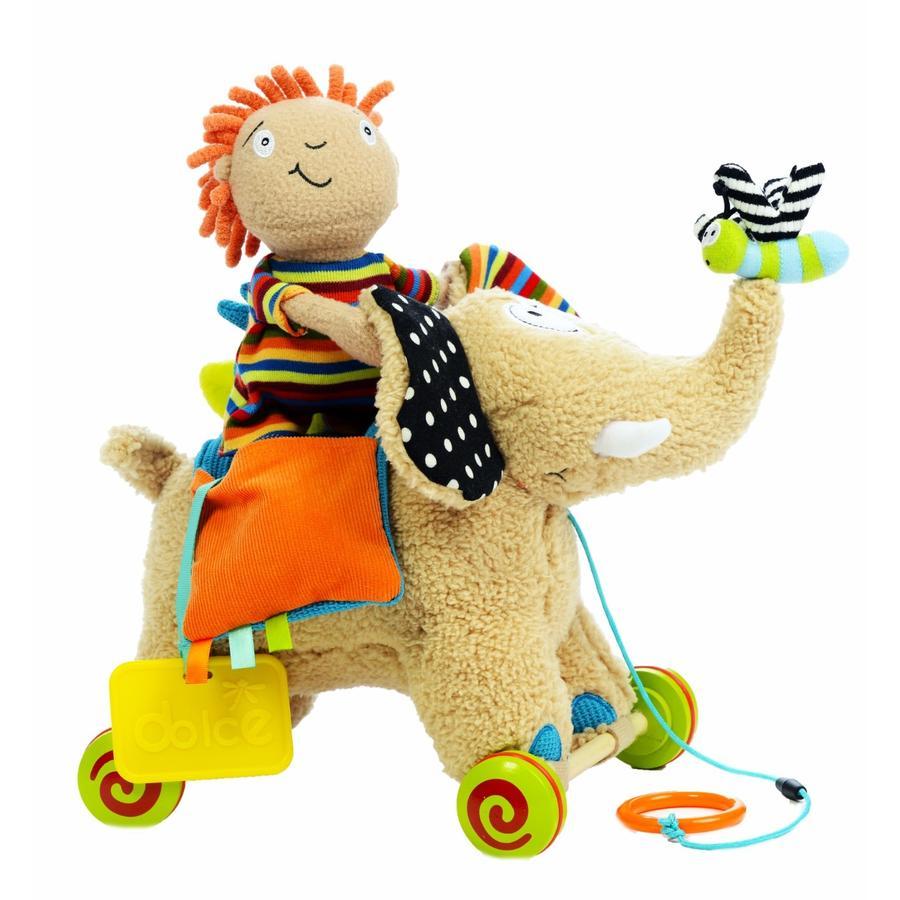 dolce Toys Nachzieh-Elefant