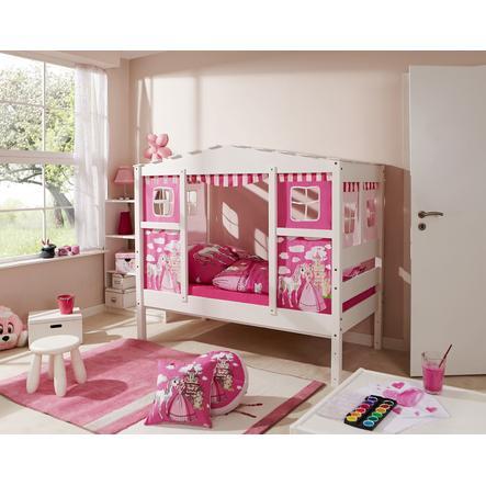 TiCAA Hausbett Mini Prinzessin Rosa