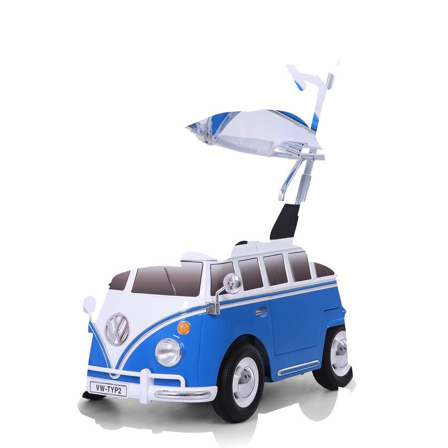 ROLLPLAY Voiture enfant à pousser van VW T2 Push Car bleu 49223