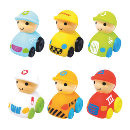 knorr® toys escabbo® badefigurer 6 stk.