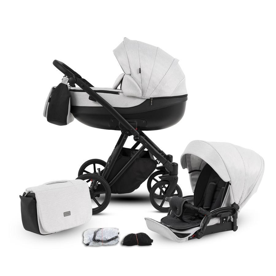 knorr-baby Poussette duo combinée YAP gris clair