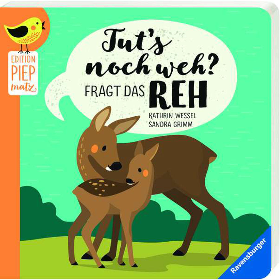 Ravensburger Edition Piepmatz Tut's noch weh?, fragt das Reh