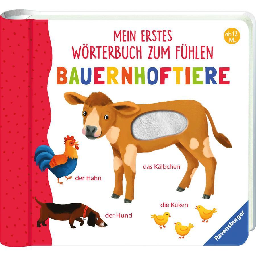 Ravensburger Mein erstes Wörterbuch zum Fühlen: Bauernhoftiere