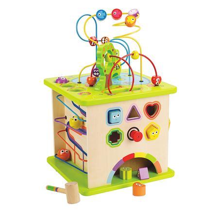 Hape Cube d'activités Petits animaux E1810