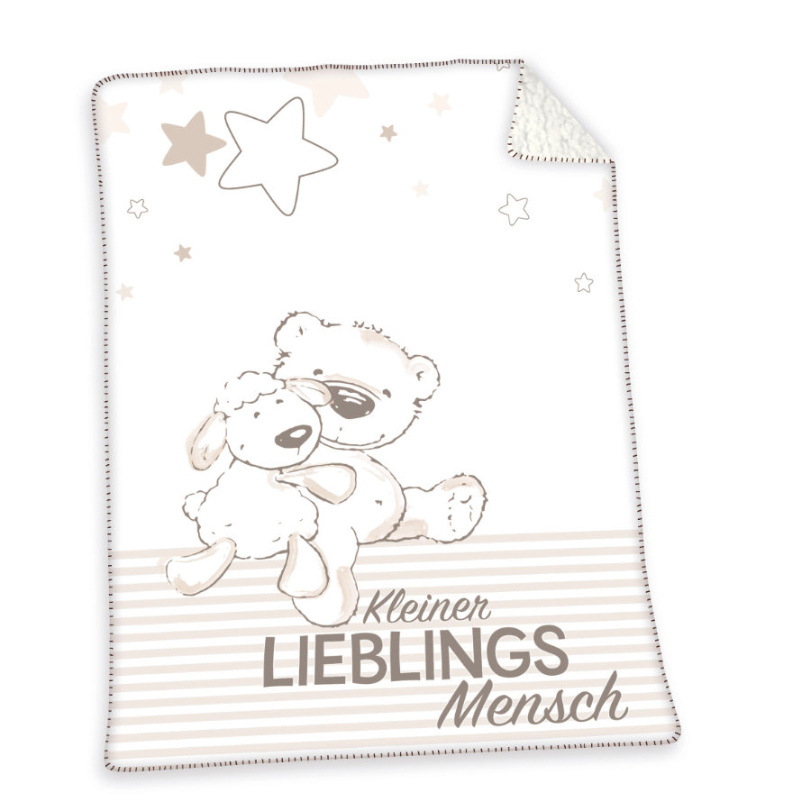 HERDING Ihmisen suosikki Soft-Plush -huopa 75x100 cm
