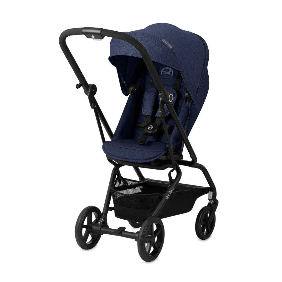 cybex GOLD Eezy S Twist + barnevogn Denim - Denim Blue