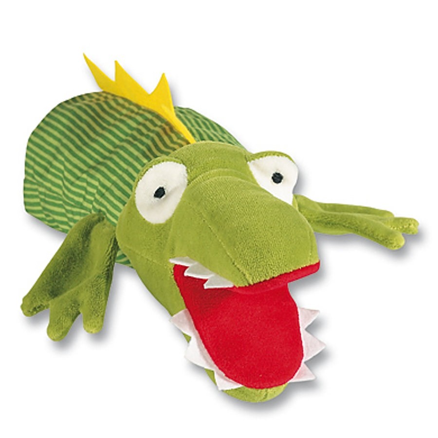 SIGIKID My little Theatre Glove Puppet Crocodile