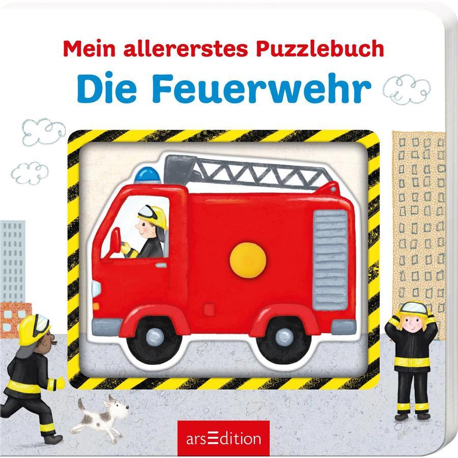 arsEdition Mein allererstes Puzzlebuch - Die Feuerwehr