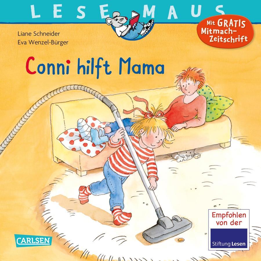 CARLSEN Lesemaus 52: Conni hilft Mama
