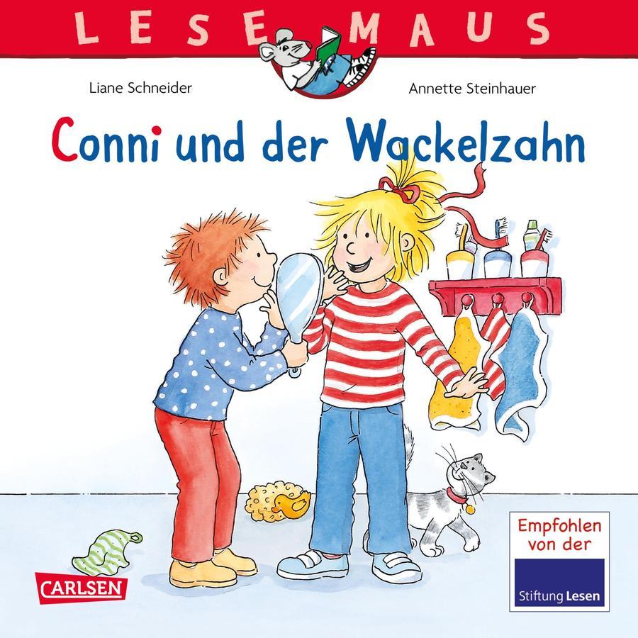 CARLSEN Lesemaus 44: Conni und der Wackelzahn
