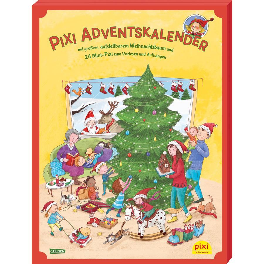 CARLSEN Pixi Adventskalender mit Weihnachtsbaum