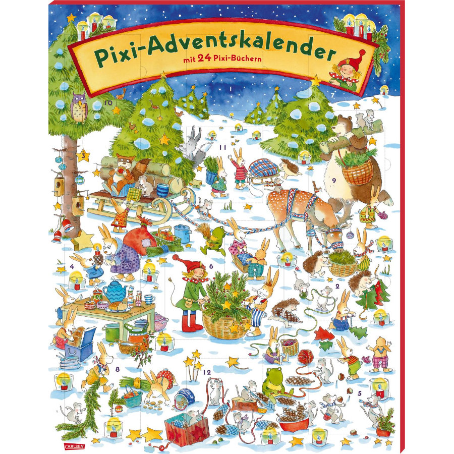 CARLSEN Pixi: Adventskalender 2020