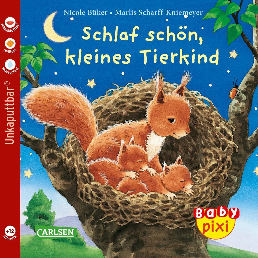 CARLSEN Baby Pixi 40: Schlaf schön, kleines Tierkind