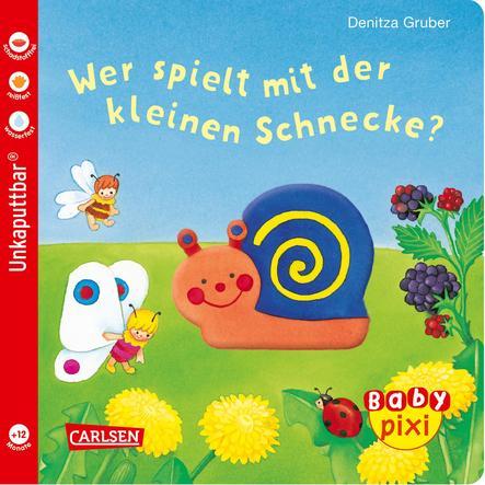 CARLSEN Baby Pixi 50: Wer spielt mit der kleinen Schnecke?