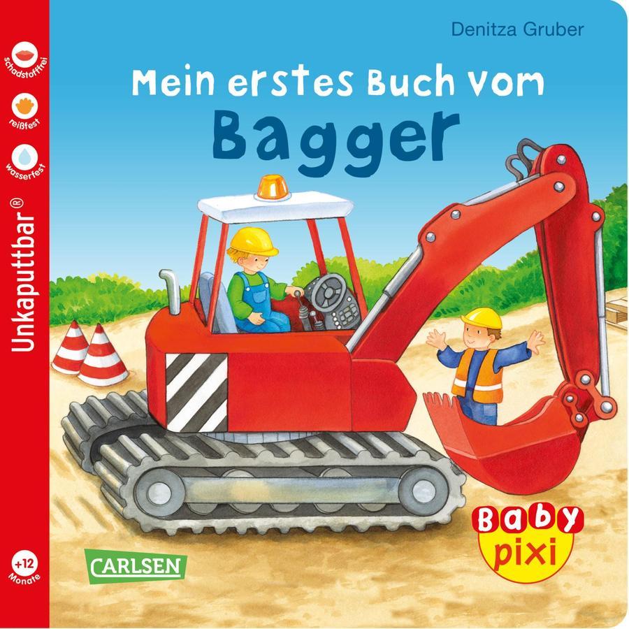 CARLSEN Baby Pixi 60: Mein erstes Buch vom Bagger
