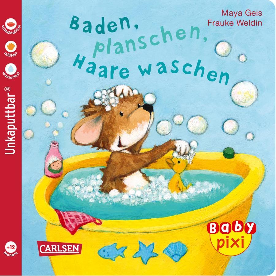 CARLSEN Baby Pixi 62: Baden, planschen, Haare waschen