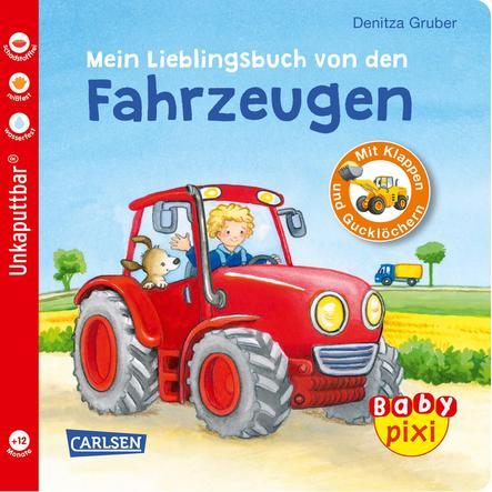 CARLSEN Baby Pixi 68: Mein Lieblingsbuch von den Fahrzeugen