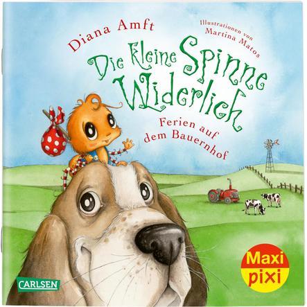CARLSEN Maxi Pixi 312: Die kleine Spinne Widerlich: Ferien auf dem Bauernhof