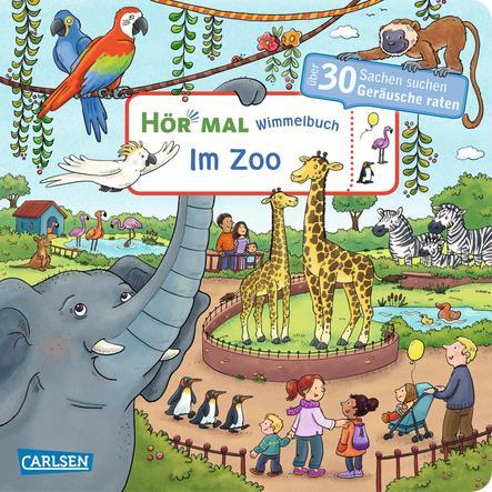 CARLSEN Hör mal: Im Zoo - Wimmelbuch