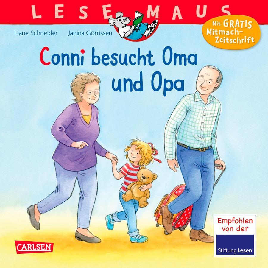 CARLSEN Lesemaus 69: Conni besucht Oma und Opa