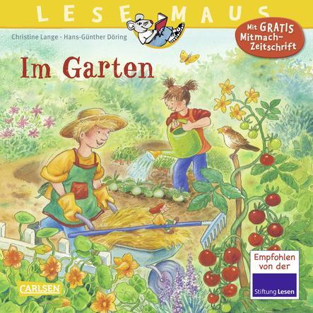 CARLSEN Lesemaus 38: Im Garten