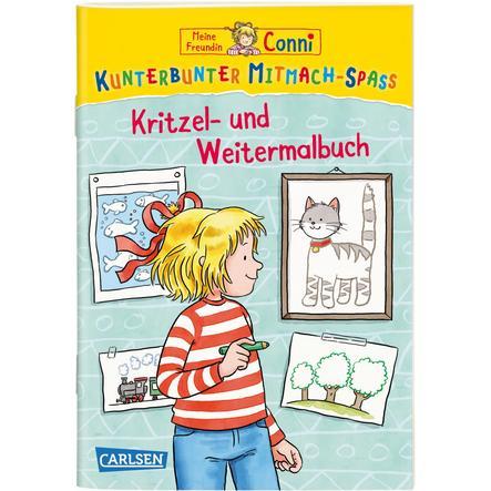 CARLSEN Meine Freundin Conni: Kritzel- und Weitermalbuch