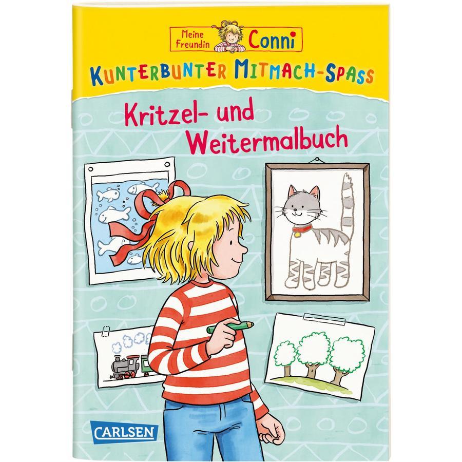 Carlsen Meine Freundin Conni Kritzel Und Weitermalbuch Baby