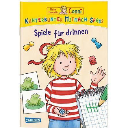 CARLSEN Meine Freundin Conni: Kunterbunter Mitmach-Spaß - Spiele für drinnen