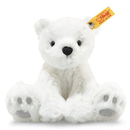 Steiff Soft Cuddly Friends Lasse isbjørn, 18 cm
