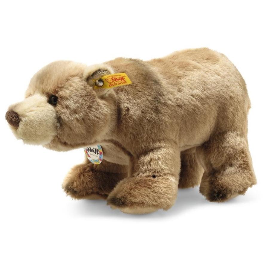 Steiff Retroceder en el tiempo Oso marrón Baerlie, 28 cm