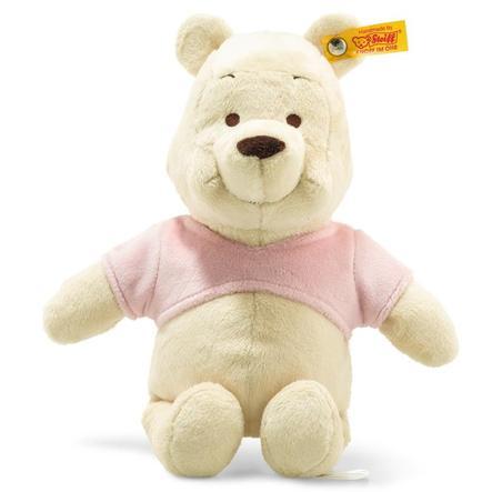 Steiff Disney Winnie Pooh med squeaker og knitrende folie, 25 cm