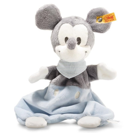 Steiff Disney Mickey Mouse Knuffeldoek met knetterfolie 29 cm