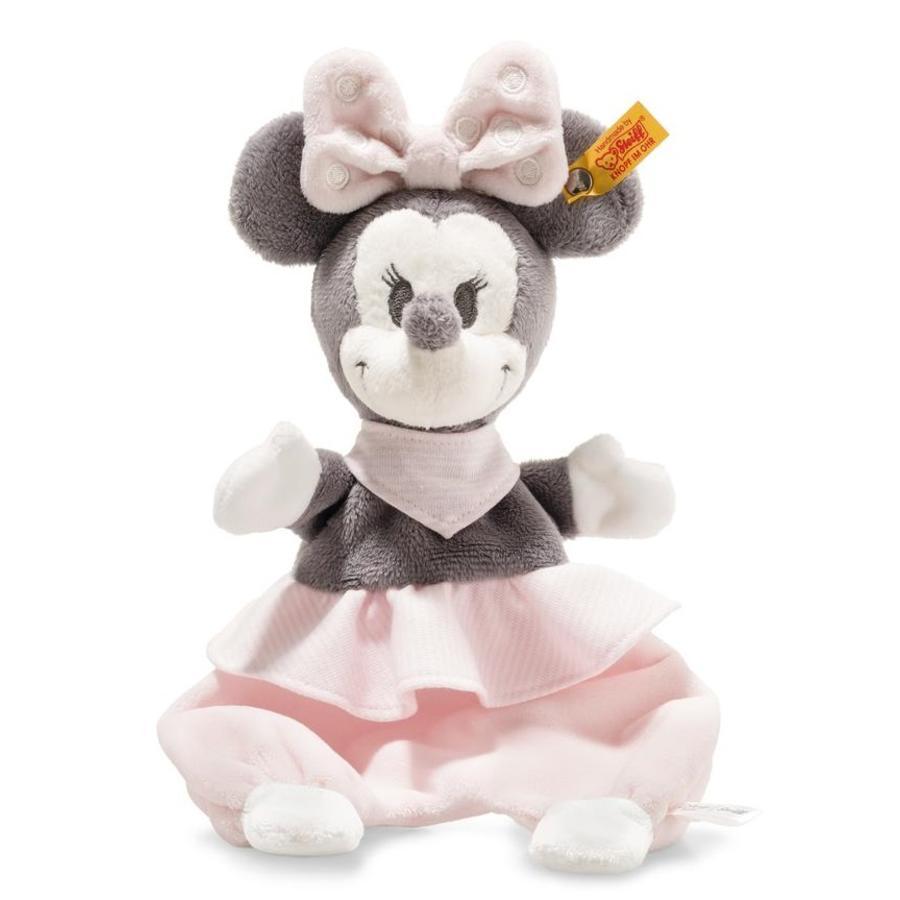 Steiff Disney Minnie Mouse Knuffeldoek met knetterfolie 29 cm