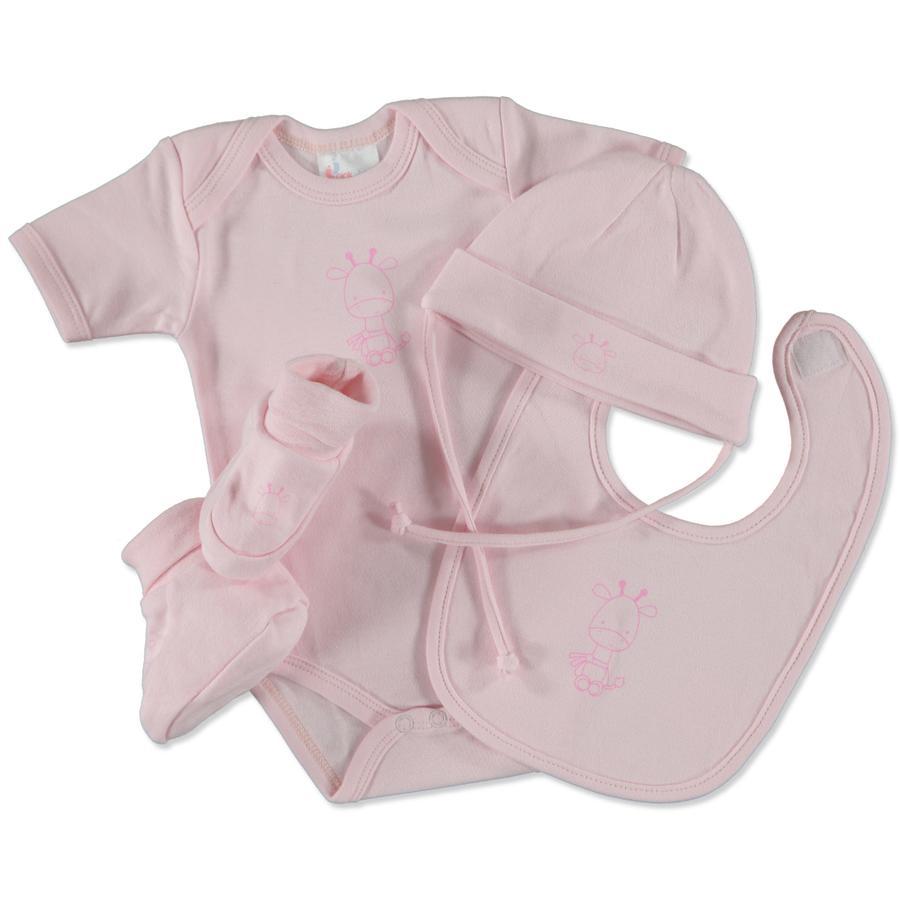pink or blue Girls Geschenkset Little Friends 4-teilig rosa