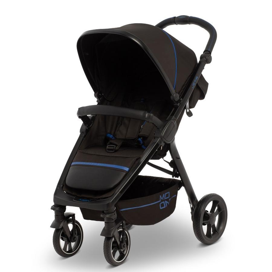 MOON Sportwagen JET R Black Blue Nylon Kollektion 2020